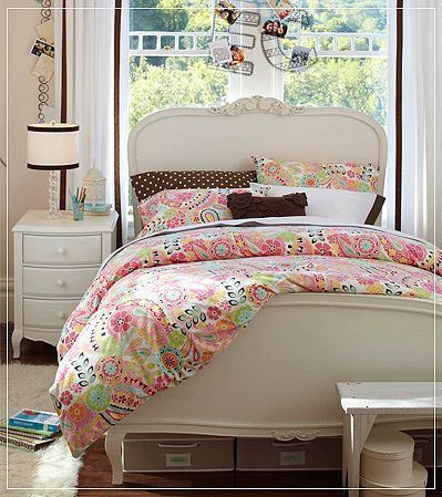 paisley lilac bedding pb teen