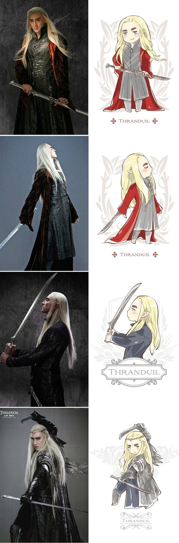 Thranduil fanart part 2                                                                                                                                                     More
