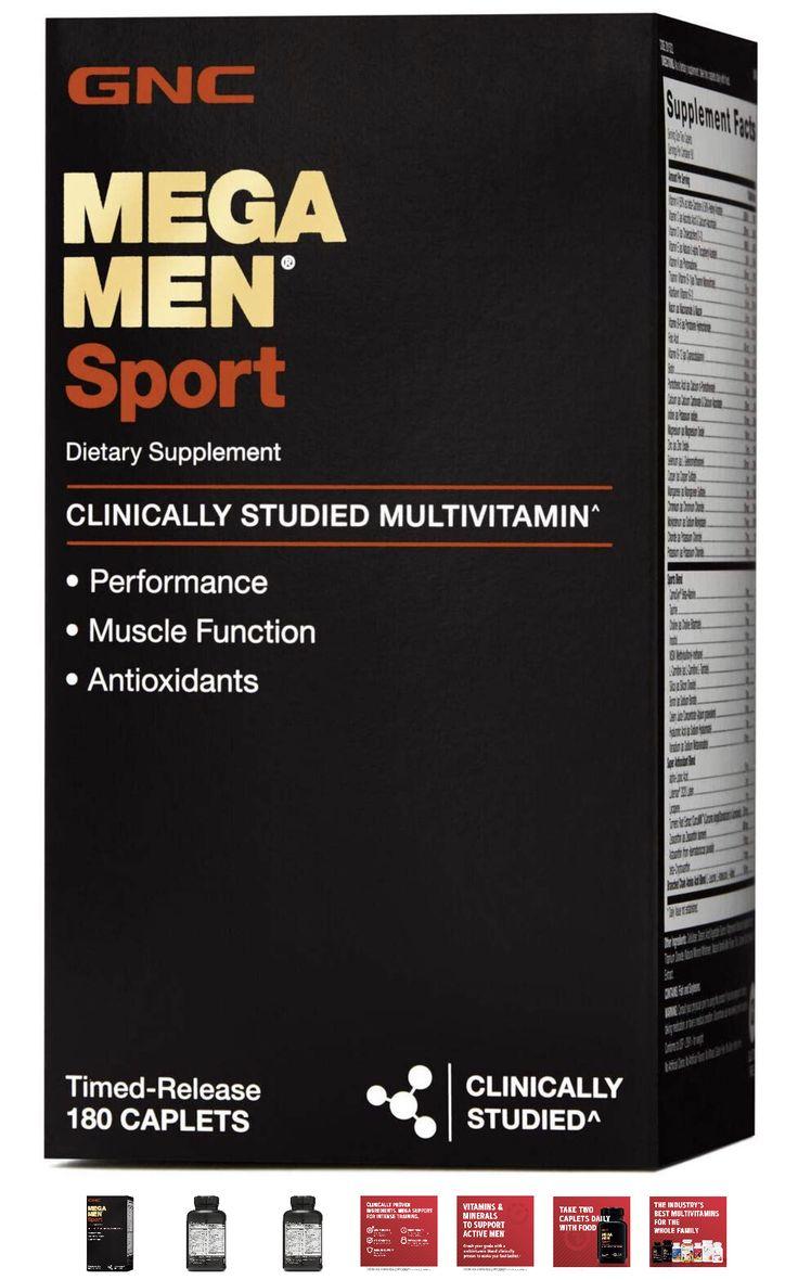 GNC Mega Men Sport Daily Multivitamin for Performance