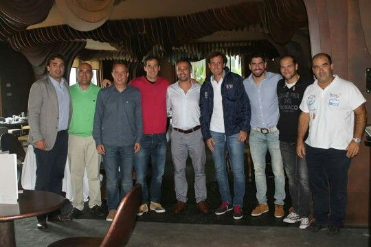 Juan Martin Diaz, Maxi Sanches, Sebastian Nerone e Gaby Reca - IV Circuito de Padel - Madeira - Hotel The Vine Patrocina