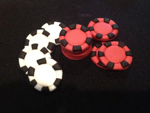 Diy fondant poker chips arcade t molding slot cutter