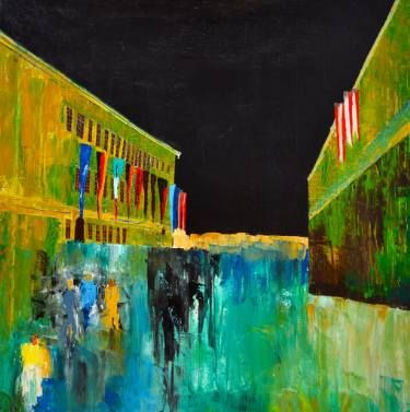 "Saatchi Art Artist Nicole Theresia Spitzwieser; Painting, ""Salzburg"" #art"