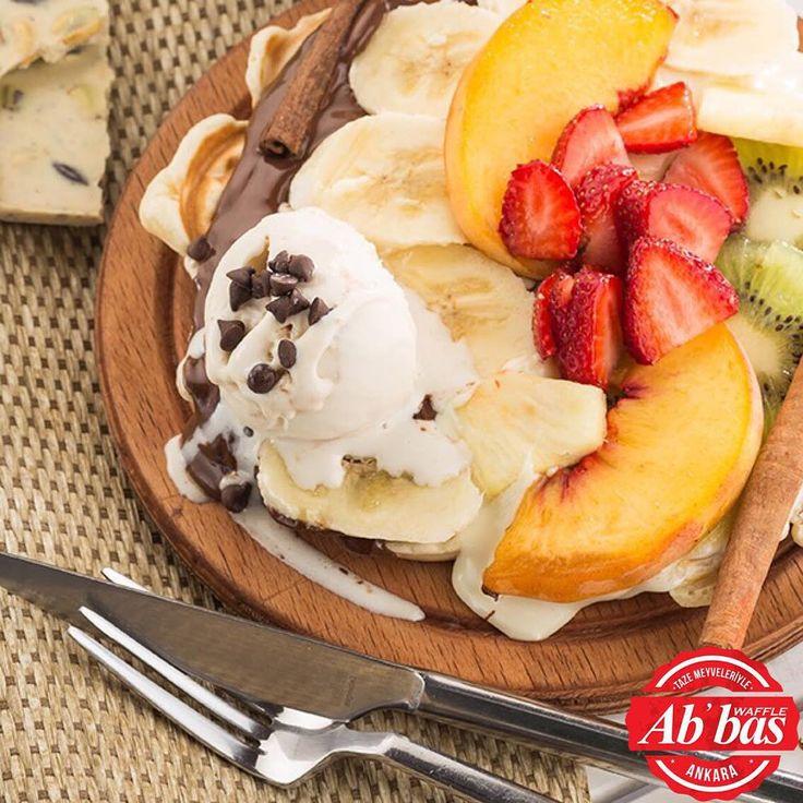 Yoksa siz de bugün Abbas Waffle ile gününüze keyif mi kattınız?