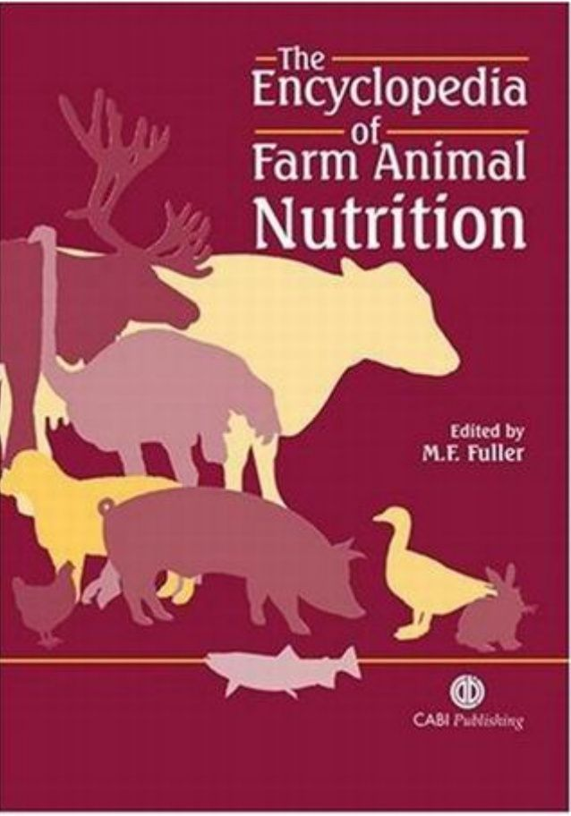The Encyclopedia of Farm Animal Nutrition 00EncofFarmAn Prels 22/4/04 10:18 Page i