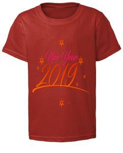 YearDress ShirtJeansShirt Happy 2019 Printing T New SzqpMjUGLV