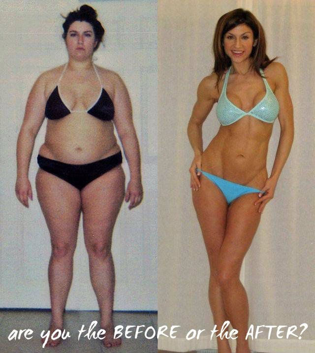 are you the BEFORE or the AFTER? - #fitness #fitspiration