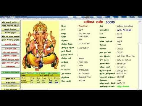 BEST ASTROLOGY SOFTWARE / A - TO - Z தமிழ் ஜாதக