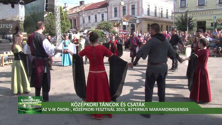 Az V-ik Ókori-, Középkori Fesztivál 2015, Mármarossziget- Aeternus Maram...