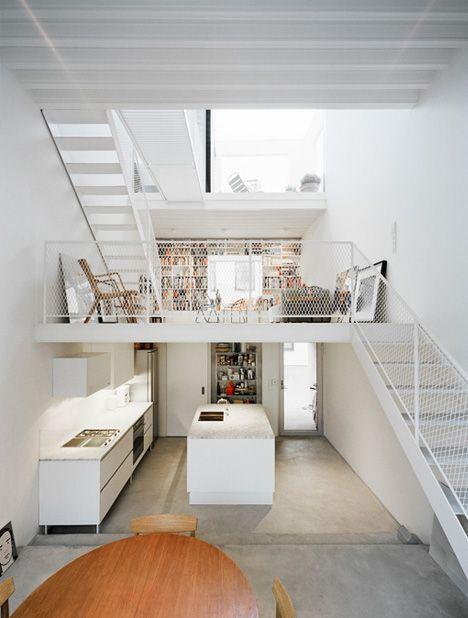 Split-level living space