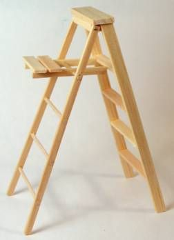 Ladder Folding Prim Minis Miniature Crafts