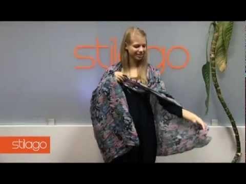 Как из шарфа сделать жилет