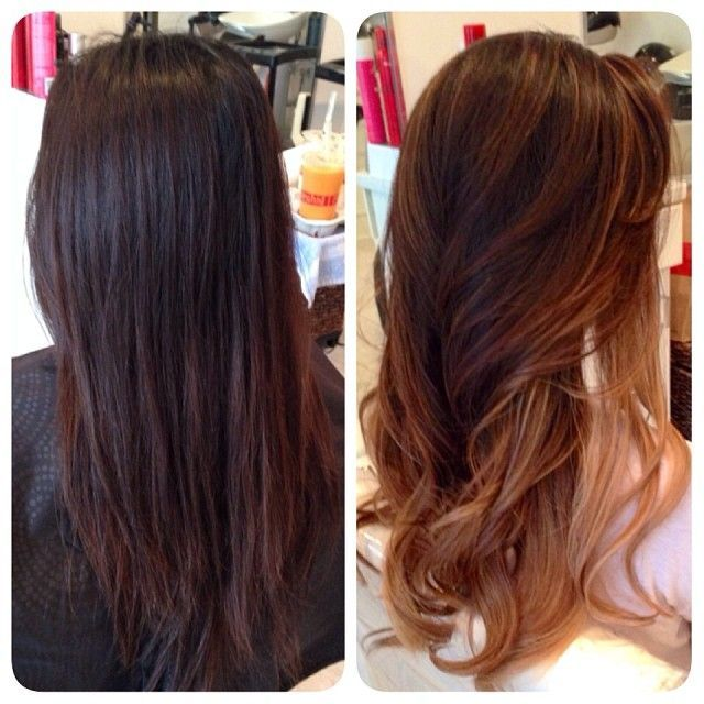 """nice Avant-Apres : #ShareIG """"Before & After"""" Hair Ombre, haircut, & style by Christine Trang. You m..."""