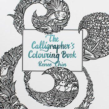 Calligrapher's Colouring Book video flip through - https://youtu.be/LLZWlmIRTN0