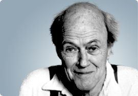 Roald Dahl author of James & the Giant Peach and Charlie and the Chocolate Factory