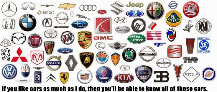 All Car Logos Brand Logos Pictures Pinterest Car