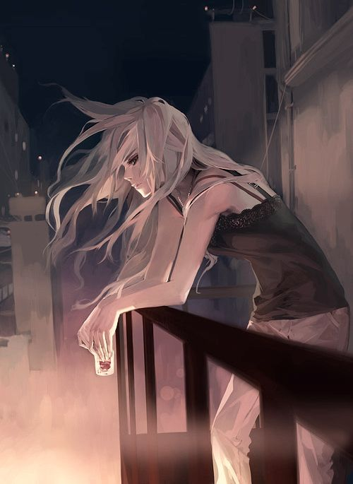 she stepped out onto the veranda, and let the cool morning breeze toss her hair. the usual city noises were welcoming, and she surprised herself by smiling. she hadn't smile in a while, and it felt good.