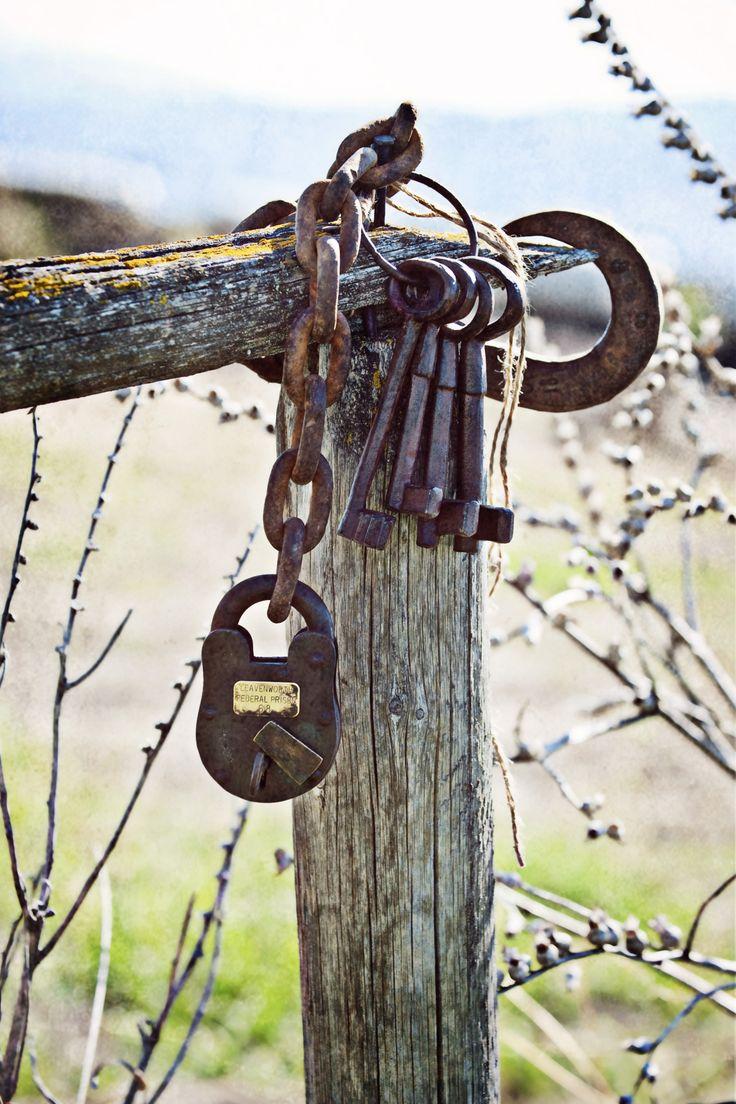 keys and lock...