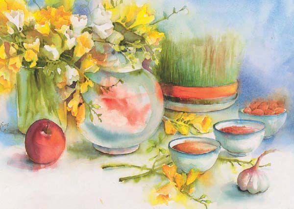 Norooz (Happy Persian new year.)