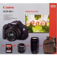 Canon EOS 600D Triple Lens Kit