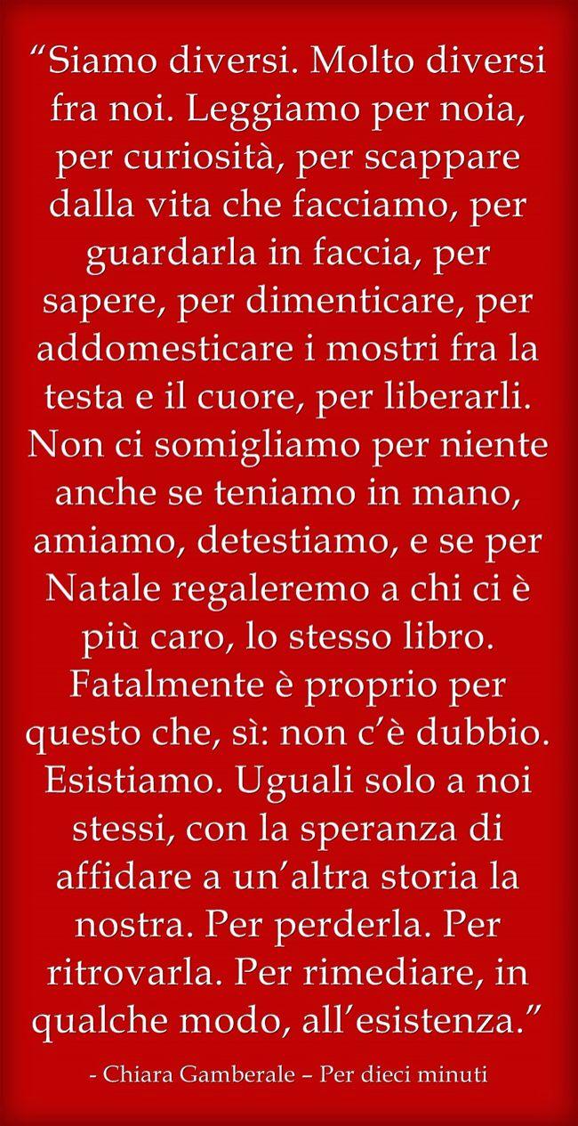 Chiara Gamberale – Per dieci minuti #libri #citazioni #citazionilibri #lovebooks #books #gamberale