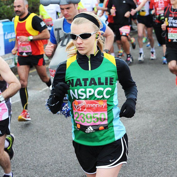 """Margaery Tyrell From GOT Doesn't """"Give a F*ck"""" What Her Time Was For the London Marathon"""