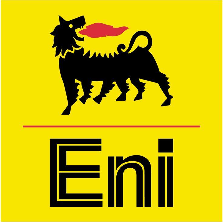 the logo of Agip, conceived by Luigi Broggini and designed by Giuseppe Guzzi and Bob Noorda
