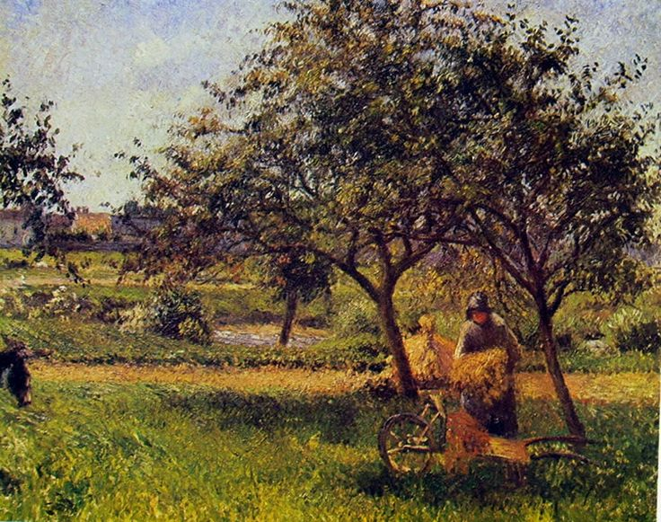Camille Pissarro: La carriola