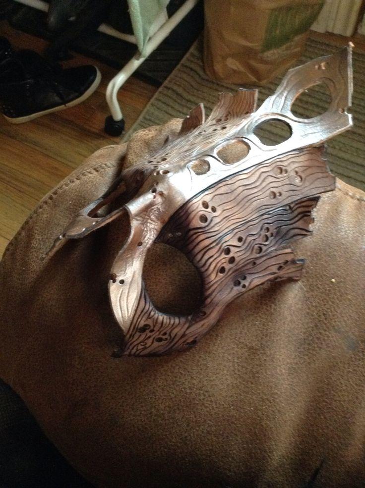 Custom leather mask