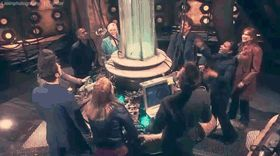 Man - Doctor Who - Journey's End. For just that short, tiny moment they're all SO happy. I'm looping it for the rest of my...