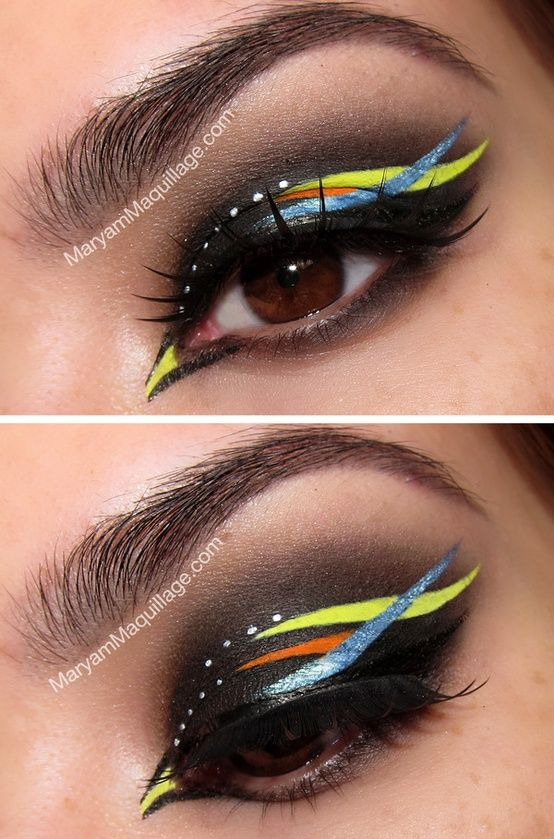 25+ Best Creative Eye Makeup Ideas On Pinterest
