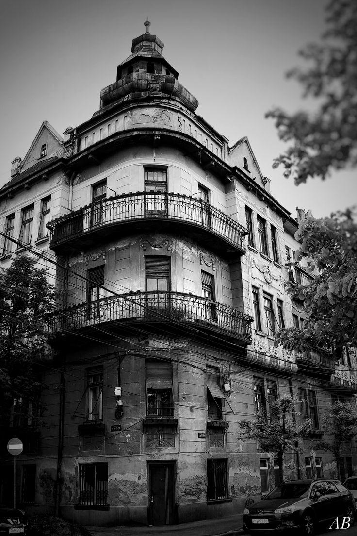 Beautiful interbelic building,Timisoara,Romania .