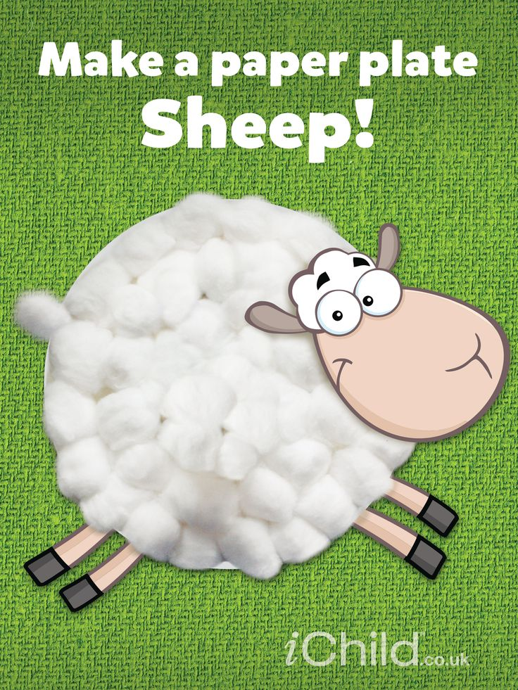 Your child can enjoy creating their very own sheep