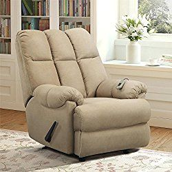 Relaxzen Rocker Recliner With Heat & Massage .For more information visit on this website http://reclinerlife.com/the-best-recliners-on-sale/