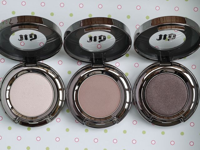 Urban Decay eyeshadows - Virgin, Tease, Busted | Flickr - Photo Sharing!