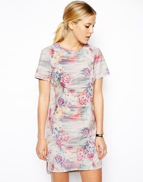 Printed Leather Shift Dress * Kentucky Derby Dresses * #kentuckyderby