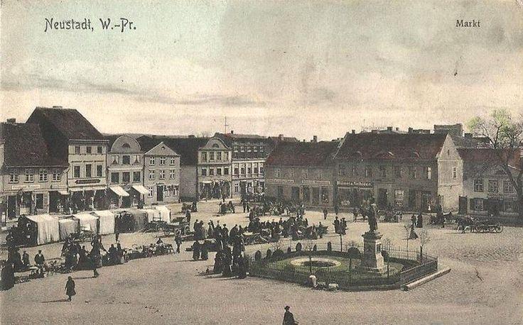Pomnik cesarza Wilhelma w Wejherowie. 1916 r.