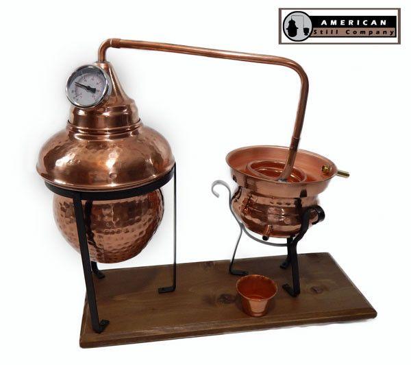 1.5 Gallon Traditional Onion Head Copper Pot Still