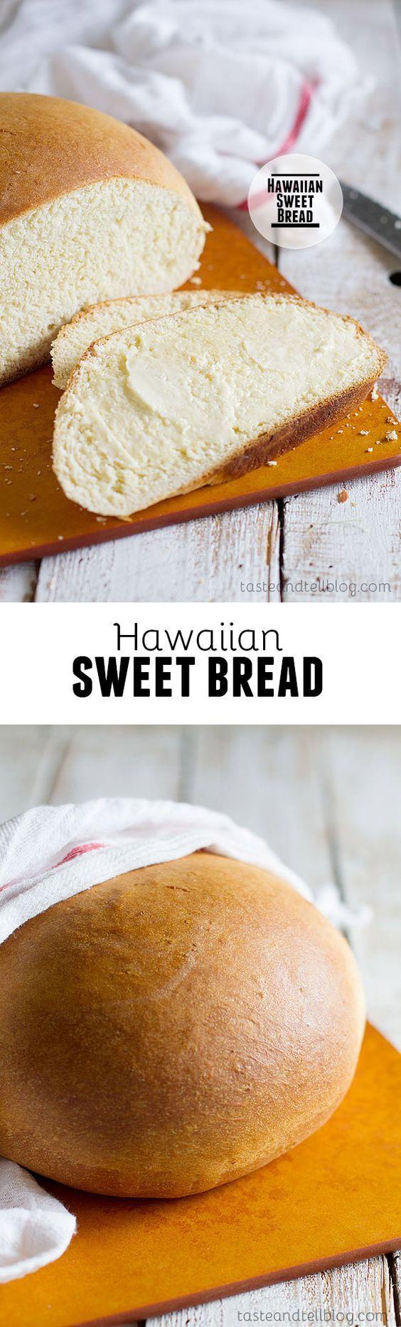 Hawaiian Sweet Bread @deborahharroun