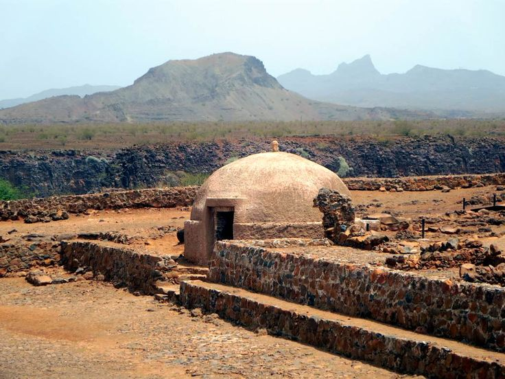 A domed cistern assured the water supply of the 16th century Forte Real de São Felipe at Cidade Velha (Ribeira Grande) on Santiago Island, Cape Verde.