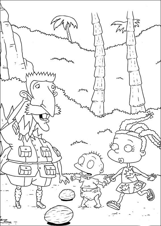 27 best Rugrats images on Pinterest | Online coloring, Coloring for ...