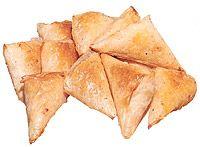 Тиропитакья (слоеные пирожки с сыром)