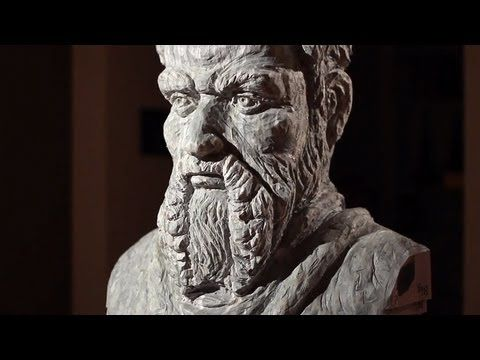 Carving Books into Art -- Sculpture Techniques of Long-Bin Chen -- 2013 Spoleto Festival USA Artist