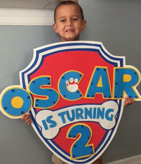 Hey, I found this really awesome Etsy listing at https://www.etsy.com/listing/459455272/paw-patrol-party-sign