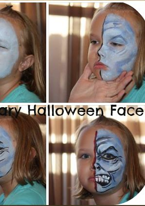 AWESOME Tutorial to create your own monster face!  SO EASY!  Who knew?!!!  #Halloween #DIY