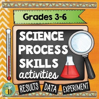 This interactive science notebook is packed with activities to help your students understand the steps of the scientific method and basic science process skills. Perfect hands-on activities to use throughout the school year. ************************************************************************ This resource may be used: ➜