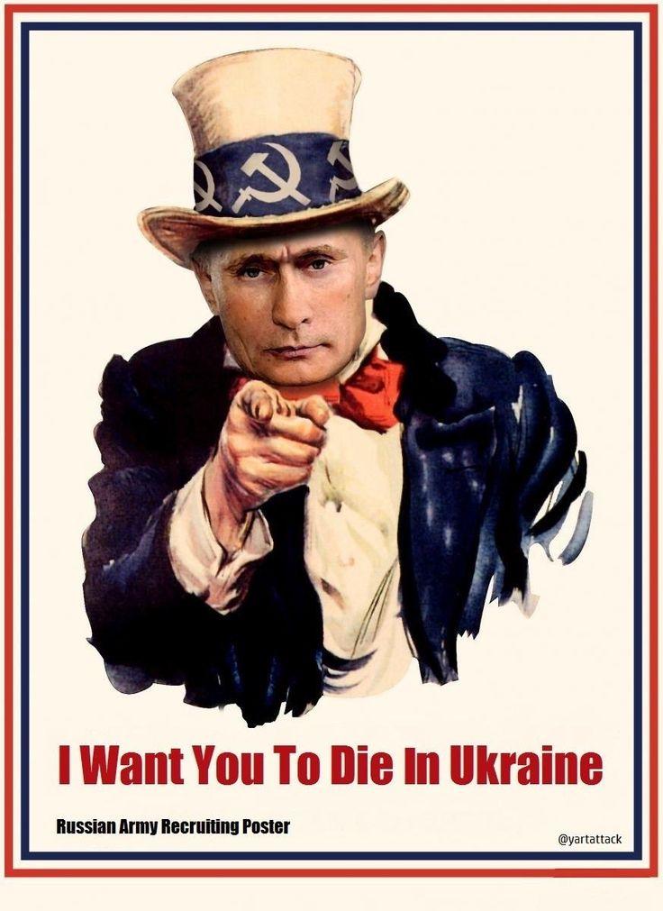 "MaG @HumanGrip  ·  Nov 1  ""@yartattack: #Putin знищує своїх же людей в Україні! @AP @Reuters @Independent @PrivateEyeNews @CNN @guardian"