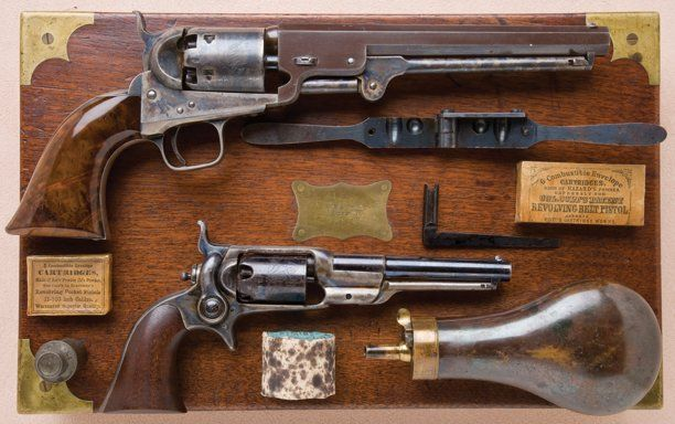Military & Patriotic:Indian Wars, Cased, Inscribed and Custom Made Set of…