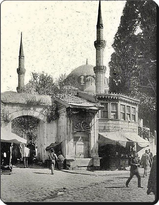 Şehzadebaşı Camii, 1900lu yılların başları  #istanlook #birzamanlar