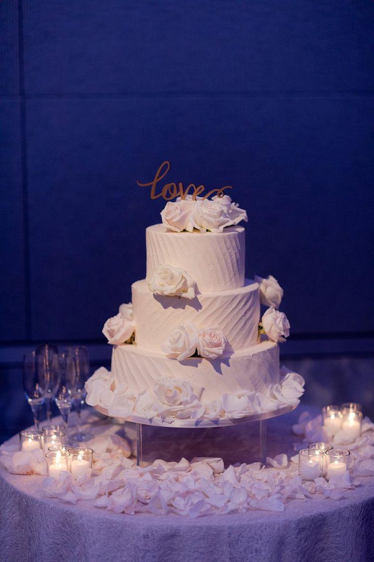 Three Tier White Cake