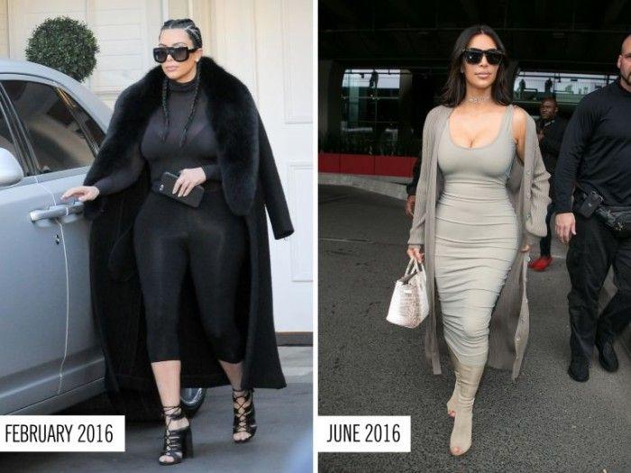 INFORMADORCHILE: La  dieta que hizo volver a los 60 kilos a Kim Kardashian en pocos meses